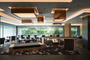 The fitness center and/or fitness facilities at Cross Hotel Kyoto
