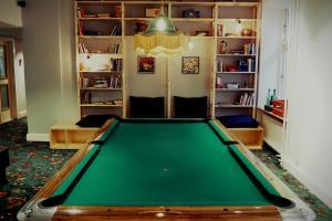 A billiards table at Urban House Copenhagen by MEININGER