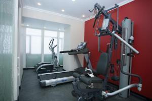 Фитнес-центр и/или тренажеры в Отель Реноме сети Оригинальные Отели