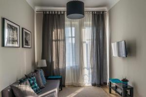 Część wypoczynkowa w obiekcie 3V Apartments