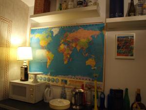 A bathroom at Hostal Arias