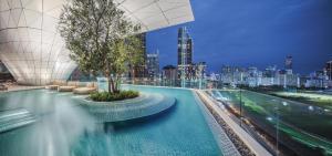 The swimming pool at or near Waldorf Astoria Bangkok