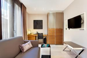 Televisor o centre d'entreteniment de Hotel España Ramblas