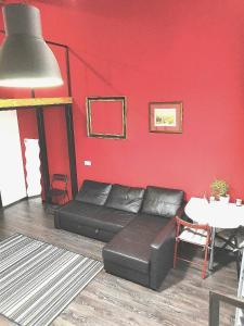Гостиная зона в Apartments Dubrovka