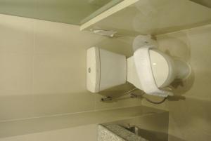 A bathroom at S Tara Grand