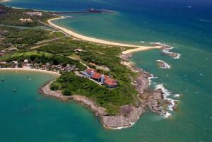 Uma vista aérea de Hotel Pontal De Ubu