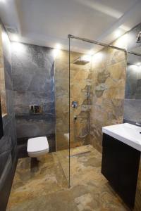 A bathroom at Willa Turnia