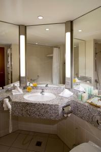 Ein Badezimmer in der Unterkunft Hotel Residence Starnberger See