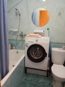 Ванная комната в Apartment Zavenyagina 6/2