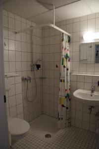 Ein Badezimmer in der Unterkunft Seminarhotel Jakobsberg