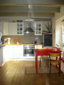 Küche/Küchenzeile in der Unterkunft Campen Cottage