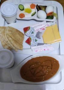 Opções de café da manhã disponíveis para hóspedes em Manazel Al Masa Furnished Units