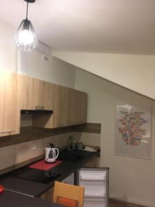 Kuchnia lub aneks kuchenny w obiekcie Apart Modra 92a