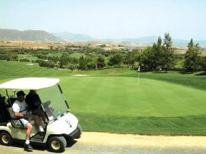 Instalaciones para jugar al golf en el hotel o alrededores