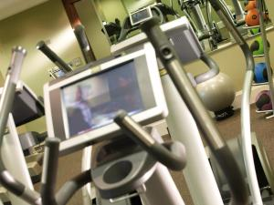 The fitness center and/or fitness facilities at Macdonald Manchester Hotel