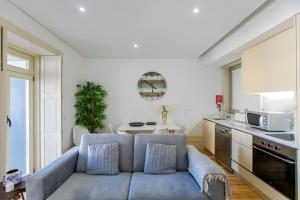 A seating area at Cedofeita Bohemian Lifestyle Apartment