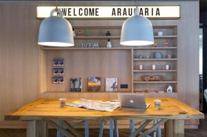 A restaurant or other place to eat at Araucaria Hotel & Spa