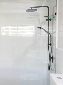 A bathroom at mist at Cape Tribulation