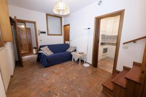 Coin salon dans l'établissement Appartamenti Raineri