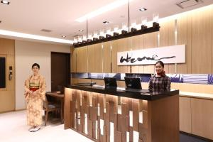 The lobby or reception area at Hotel Gracery Asakusa