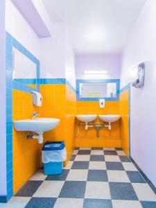A bathroom at Hostel Brize