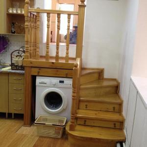 A cozinha ou cozinha compacta de Квартира в Ичери шехер