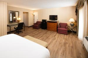 A television and/or entertainment center at Red Lion Hotel Twin Falls