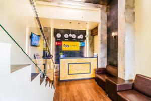 The lobby or reception area at Hygenic Hotel Lotus Grand Andheri