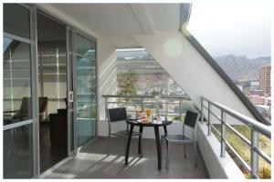 A balcony or terrace at Casa Grande Hotel