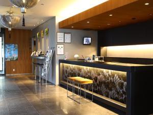 A kitchen or kitchenette at Hotel Wing International Himeji