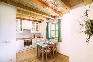 Küche/Küchenzeile in der Unterkunft Sprechenstein