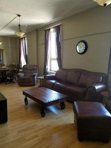 A seating area at The Westland Suite