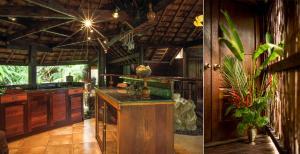 A cozinha ou cozinha compacta de Rohotu Fare