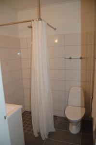 Et badeværelse på Hotel Balka Strand