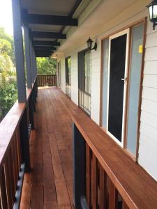 A balcony or terrace at Fairview on Fairhills