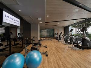 The fitness center and/or fitness facilities at Novotel Bangkok Sukhumvit 4