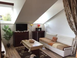 Posezení v ubytování Belle Vue