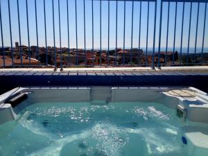 The swimming pool at or near Hotel Diana