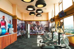 The fitness center and/or fitness facilities at ibis Kuala Lumpur City Centre