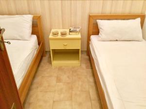 Letto o letti in una camera di Appartamento Taormina Mare