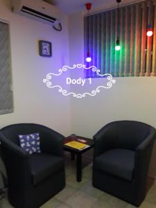 Prostor za sedenje u objektu Dody Apartmani