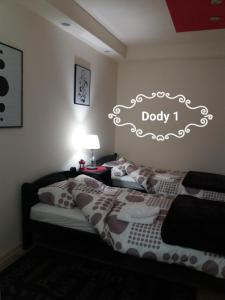Krevet ili kreveti u jedinici u okviru objekta Dody Apartmani