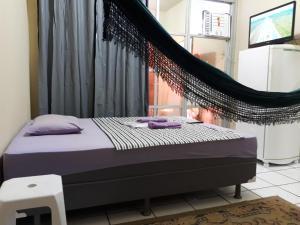 Cama o camas de una habitación en Apartamento Temporada Amazonas