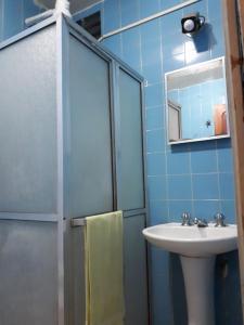 Un baño de Apartamento Temporada Amazonas