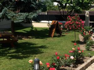 Jardin de l'établissement Chez Camille