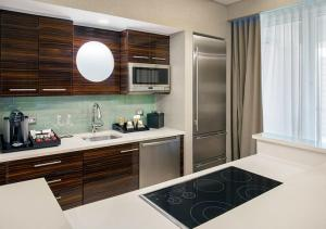 A kitchen or kitchenette at Conrad Fort Lauderdale Beach