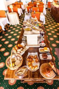 Frühstücksoptionen für Gäste der Unterkunft Malecot Boutique Hotel