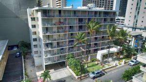 A bird's-eye view of Ewa Hotel Waikiki
