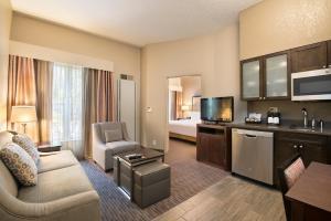 Prostor za sedenje u objektu Homewood Suites Austin/South