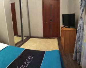 Телевизор и/или развлекательный центр в Apart-Comfort Volkova 6